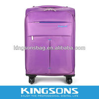 purple travel bag,bag trolley luggage ,laptop trolley case