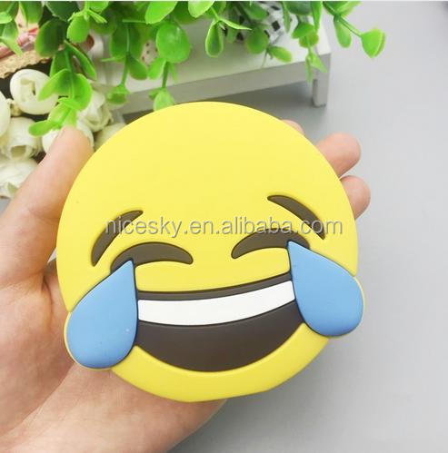 new products 2016 high quality 2600mah actual capacity emoji power bank mobile battery charger for universal phone