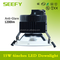 6 inch led recessed downlight