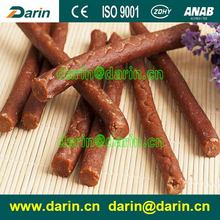 Duck fresh Meat Sticks Pet Food Extruder Machine 200-500kg/hr Stainless Steel Flat Munchy Strip Snacks Making Machine
