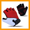 New Mens Cycling Gloves Bike Half Finger Bicycle Gel Silicone Fingerless Sport Gloves