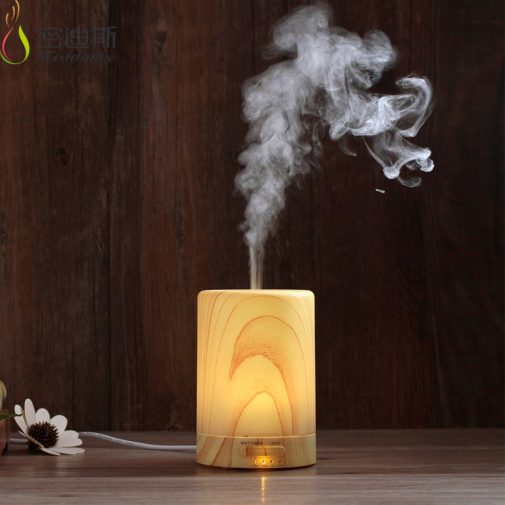 Ultrasonic Aromatherapy Humidifier Aroma Diffuser LED Light Lamp