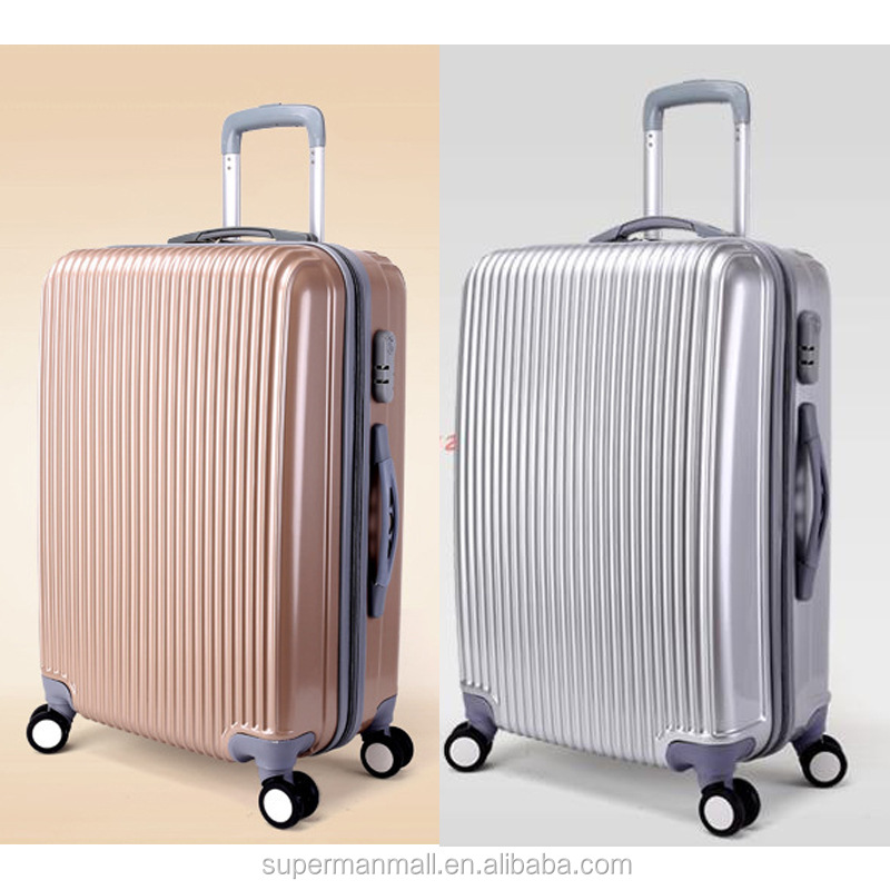 20/24'' carry-on luggage travel expandable trolley luggage carrier with spinner wheels factory wholesale