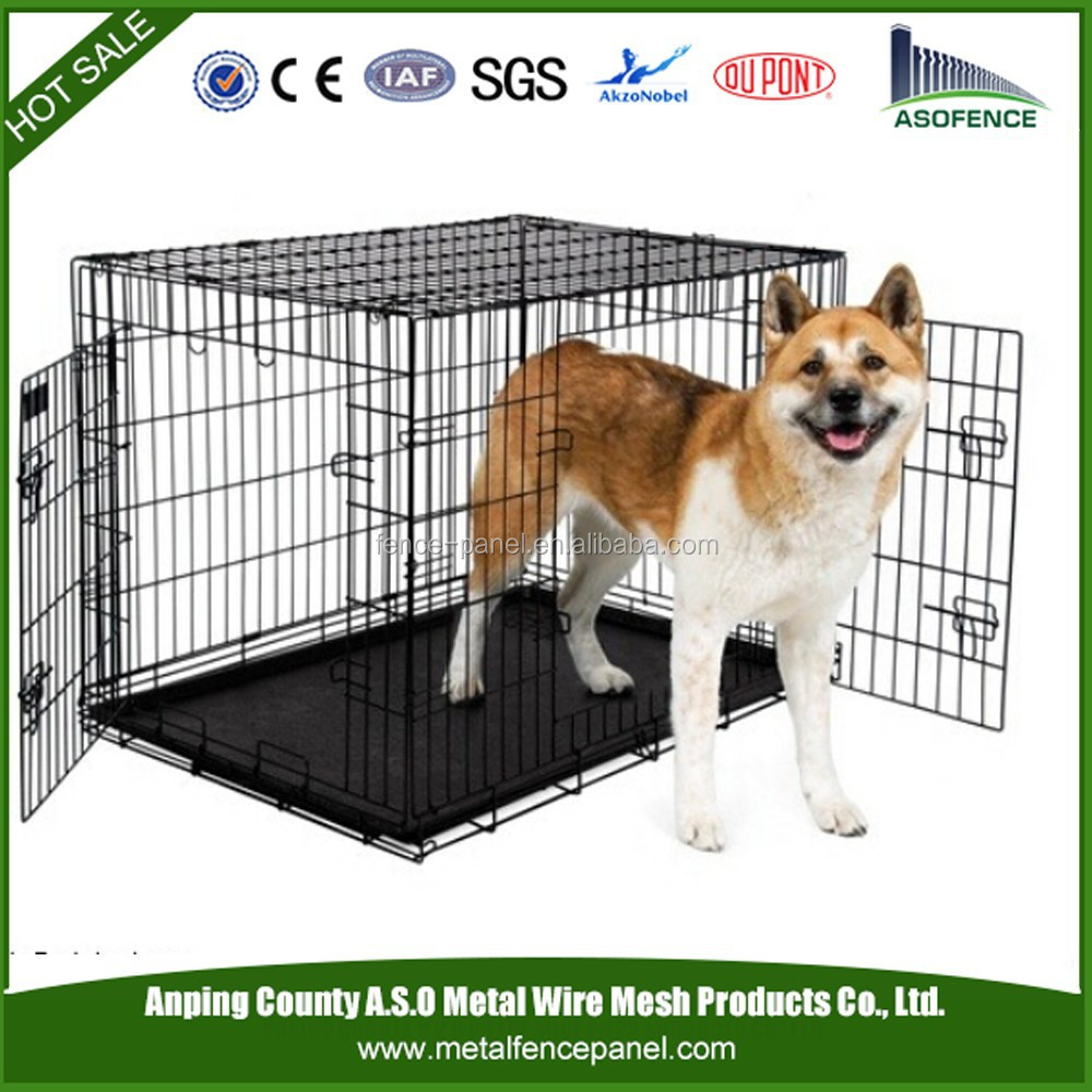 China manufacture stainless pet dog cages / small pet cages / pet steel cages (factory)