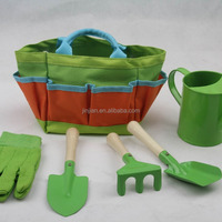 Kids Garden Tote And Tools Set