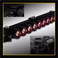 Hotsale car accessory high lumens cree off road LED light bar