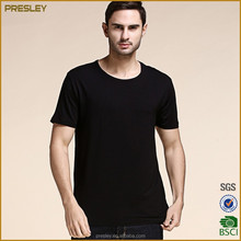 High Quality Round Neck Blank T-shirt For Men/XXXL Men's Plain Cotton Casual T-shirt