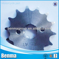 bajaj14t front and rear Sprocket, Motorcycle Sprocket bajaj discover, Professional Sprocket Motorcycles Factory Sell