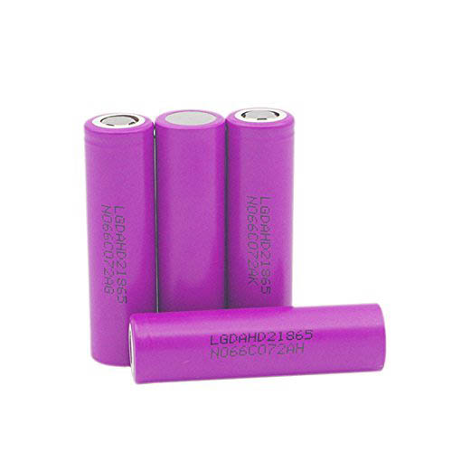 LG 18650 HD2 25A/12.5C 2000mAh 3.65V Rechargeable Lithium Ion Battery