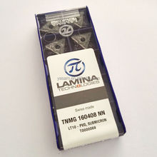 TNMG160408 TNMG160412 NN LT10 Swiss made LAMINAs Original carbide inserts for turning tool holder