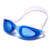 Mirror coated new design wide vision durable swimming goggle