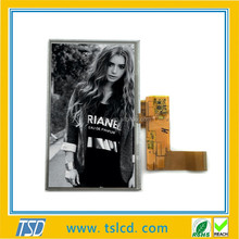 Custom LCD display screen assembly super high brightness 7 inch tft IPS display