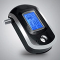 Professional Mini Police Digital LCD Screen Breath Alkohol Alcohol Tester Breathalyzer AT6000 Bafometro Alcoholimetro #