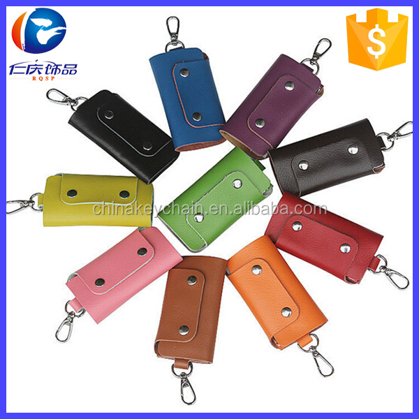 Wholesale Korea Leather Car Bag Keychain For Woman