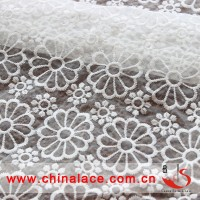 Chinoiserie Nylon Petal organza Embroidery Lace fabric