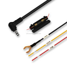 dc power cable with fuse 12 v power extension cable made in china for vehicle traveling data recorder