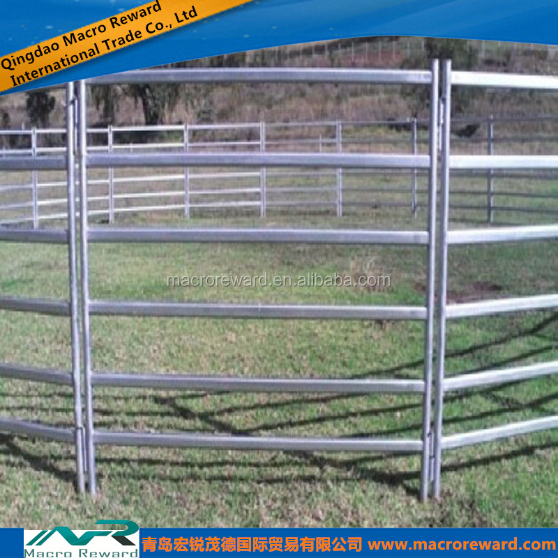 Heavy Duty Cattle Rail Fence Used Horse Fence Panels In Farm