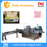 high quality automatic facial tissue carton box packing converting machine CIL-FT-258