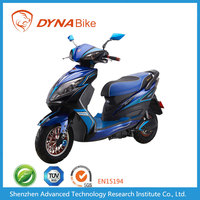 Good Quality 60Km/h Speed 20AH Lead Acid Battery Electric Classic Moped Motorcycle for Sale