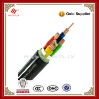 NO.0007-- 4 core 600/1000V Low voltage electrical Copper conductor XLPE PVC insulated power cable prices 70mm2 cable