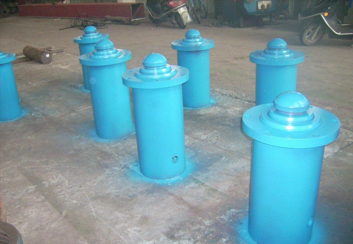 High quality 50 ton double acting hydraulic hollow cylinder for sale