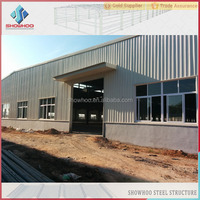 lightweight prefabricated steel structure warehouse building