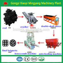 Semi-automatic Honeycomb Coal Briquette Molding Machine With ISO & CE From 0086-13838391770