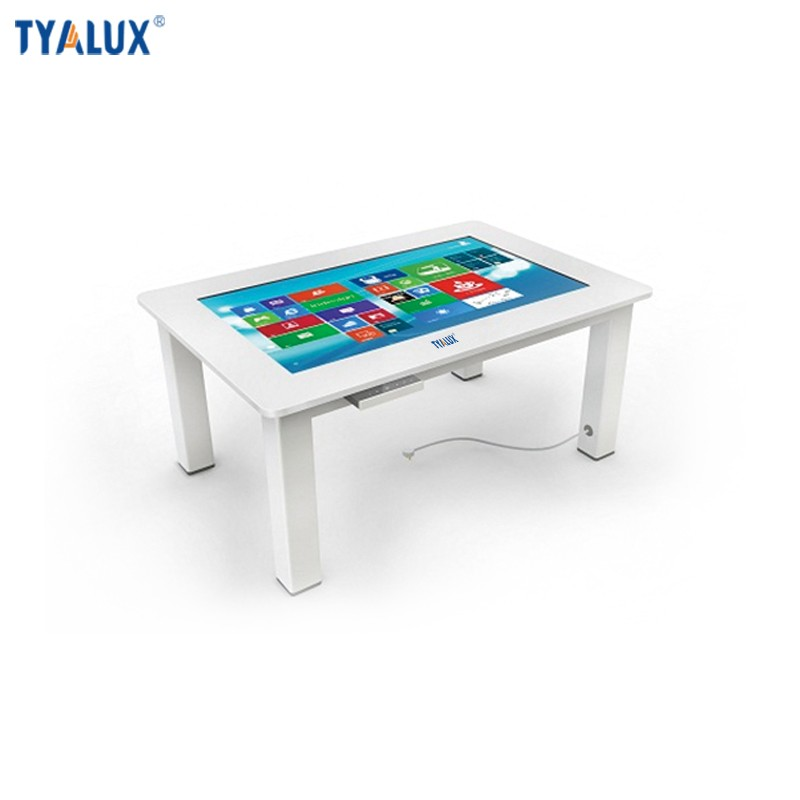 43 inch tablet embedded pc touch table with 1920x1080 resolution