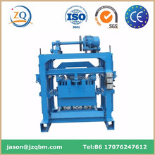 compress concret cement soil brick block making machinery/ Automatic interlocking block making machine price for sale