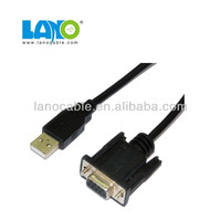 25m usb to 15pin od 7.3 vga cable