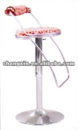 modern industrial metal stool design