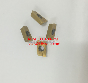 carbide milling insert APMT160408 -pm Produce by zhuzhou kelite