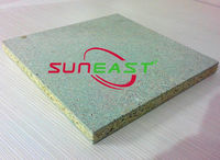 1220*2440mm green waterproof particle board/chipboard for furniture