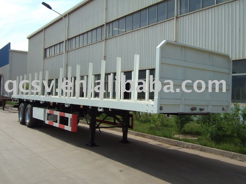CIMC TRAILER /40ft dual-axle lumber carrying semi-trailer