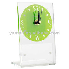 Excellent Customized Colorful Acrylic Table Clock
