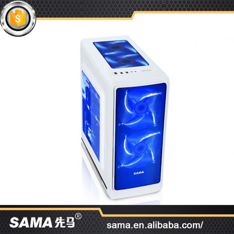 SAMA Hot 2016 Fashional Super Factory Price Micro Atx Computer Case Tower White