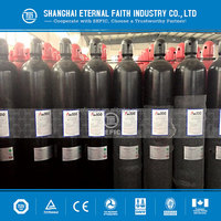 2015 High Pressure Competitive Price Steel Nitrogen Gas Cylinder with Valve
