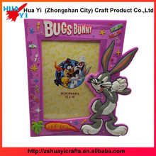 Alibaba custom high quality promotional gift cartoon PVC photo picture frame