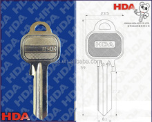 blank key jma keys key for door factory price U-5AR