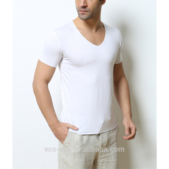 High Quality Raw Charcoal T-shirts Soft Man T-shirts