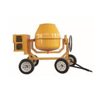 300L 2 wheels mix concrete cment sand mortar industrial cement mixer/petrol china engine small concrete mixer for sale