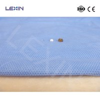 Fluid resistance sterile disposable SMS medical gown