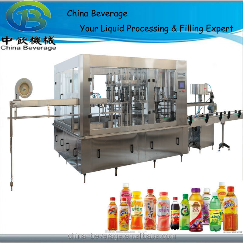 new condition and automatic type for soft drink filling and capping machine