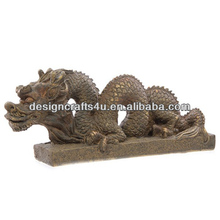 Wholesale Large Size Resin Dragon Garden Statues