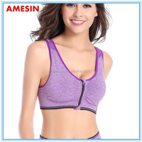 Hot in Thai Sexy Yoga Bra Breast Lift Padded Bra Front Closure
