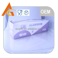 trade assurance 8011 food package container aluminium foil