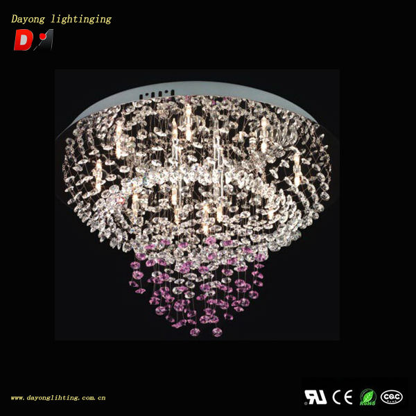 Alibaba Modern Ceiling Lights : The latest popular modern crystal ceiling light