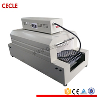heat tunnel shrink wrapping machine, pet bottle shrink wrapping machine, small shrink wrapping machine