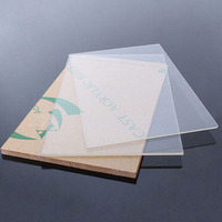scratch resistant 100% virgin plexiglass acrylic material 0.65mm acrylic sheet
