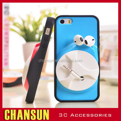 New design TPU+PC winding moblie phone case for iphone 5/5s ,moblie phone case with Bobbin winder